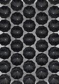 Just umbrellas — Stock Photo