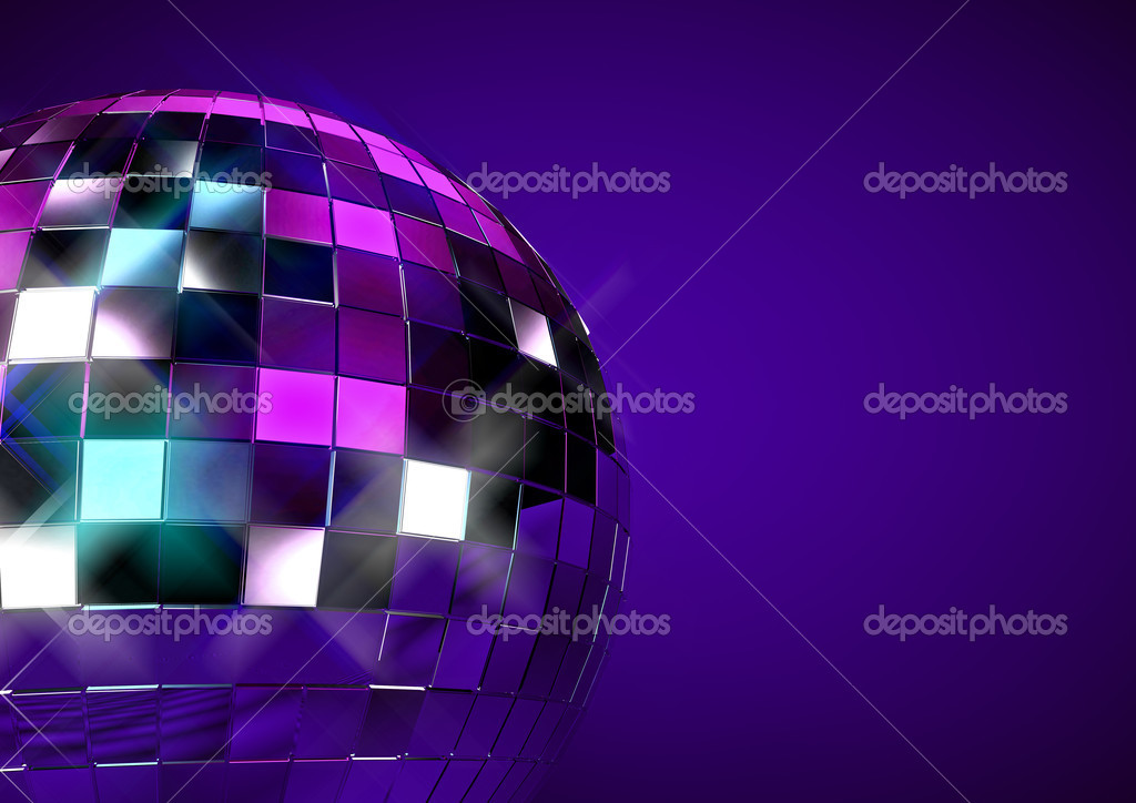3D disco ball concept — Stock Photo #9788274