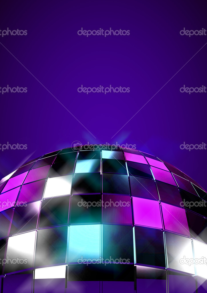 3D disco ball concept — Stock Photo #9788291