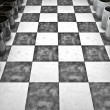 Coffee checkers board game - Stockfoto