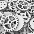 Lots of cogs — Stock Photo
