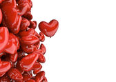 Heart balloons — Stock Photo