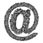 City alphabet email — Stock Photo #9850956