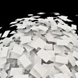 Stock Photo: Sheets of office paper
