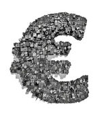 City alphabet euro — Stock Photo