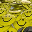Smiley badges — Stock Photo