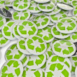 Recycle badges — Stock Photo