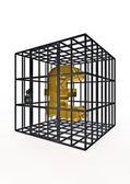 Caged pound — Stock Photo