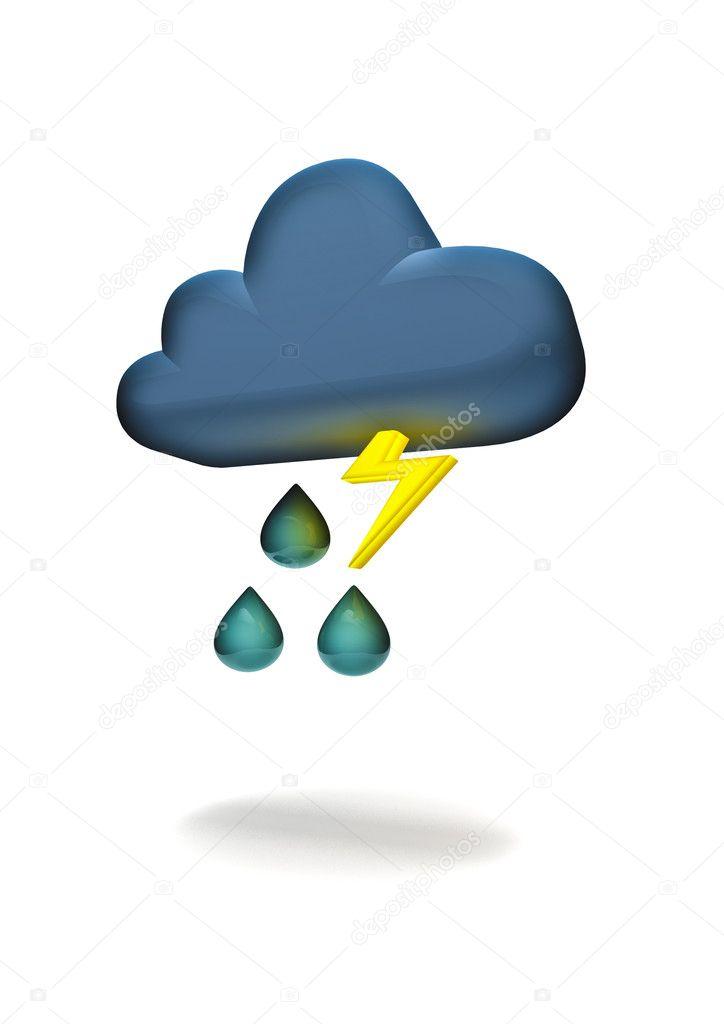 Weather Symbols Lightning