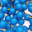 Christmas ornaments background — Stock Photo #9899452