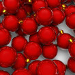 Christmas ornaments background — Stock Photo #9899476