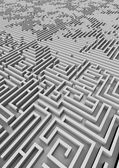 Giant maze — Stock Photo
