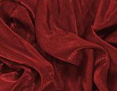 赤いクリスマスのサテンの背景 — ストック写真