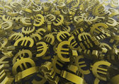 Pile of euros — Stock Photo