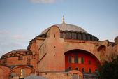 Istanbul. le dôme central de la cathédrale de sofia — Photo