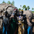 Mursi Men — Stock Photo