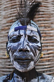 Chief of the Karo — Stock Photo