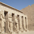 Stock Photo: At Habu Temple, Luxor, Egypt