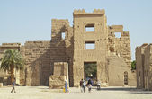 At Habu Temple, Luxor, Egypt — Stock Photo