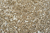 Middle fraction of crushed stones material texture — Stock Photo