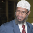 Zakir Abdul Karim Naik is a Muslim apologist — Stock Photo
