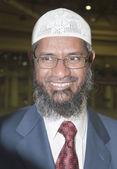 Zakir Abdul Karim Naik is a Muslim apologist — Stock Photo