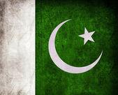 Pakistan Flag Grunge — Stock Photo