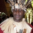 African Tribal Man in DSF - Photo