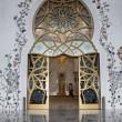 Main Door Sheikh Zayed Mosque — Stock Photo