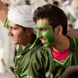Pakistani Supporters — ストック写真