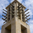 Arab wind tower — Stock Photo