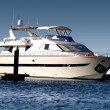 Super Yacht in berth — Stock Photo #9921867