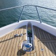 Front View of from Top of a Yacht - Stock Photo