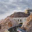 Al Ain Palce in Jebel Hafeet Mountain - Stock Photo
