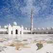 Sheikh Zayed Mosque and Veranda — Stock Photo