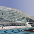 Yas Hotel and Yas Marina Circuit — Stock Photo