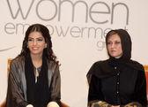 Her Highness Princess Ameerah and Sahar Al Madani — Stock Photo
