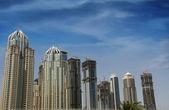 Dubai jumeirah lake towers — Stock fotografie