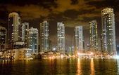 Dubai night view — Stock Photo