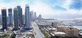 Media City Dubai and Westin Hotel — Stock Photo