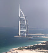 Burj Al Arab Aerial shot — Stock Photo