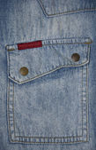 Denim Pocket — Stock Photo