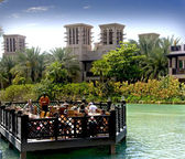 Madinat Jumeirah Creek — Stock Photo