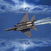 F-16 Fighting Falcon — Stock Photo
