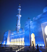 Grand Mosque or Sheikh Zayed Mosque — Stock Photo