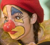 Clown Female — Stock Photo