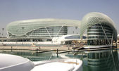 Yas Marina Hotel — Stock Photo