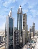 Aerial Shot of Sheikh Zayed Road — Stock Photo