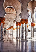 Mosque hallway — Stock Photo