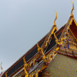 Roof of  temple - Stockfoto